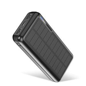 Batterie externe 20000mAh solaire