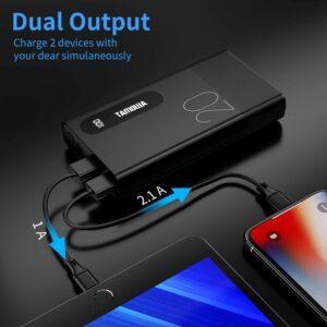 Batterie externe 20000mAh double entrée