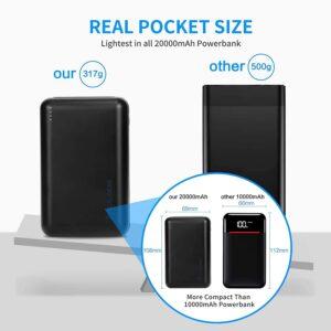 Batterie externe 20000mAh petite taille