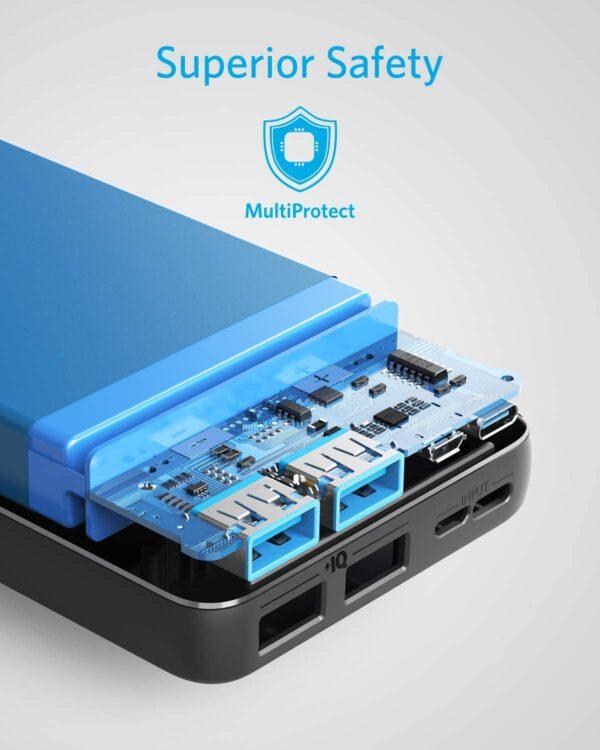 Batterie externe 20000mAh Anker protection