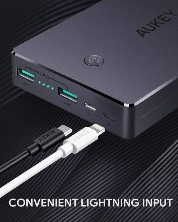 Comment choisir sa batterie externe image de présentation avec Power Bank Aukey