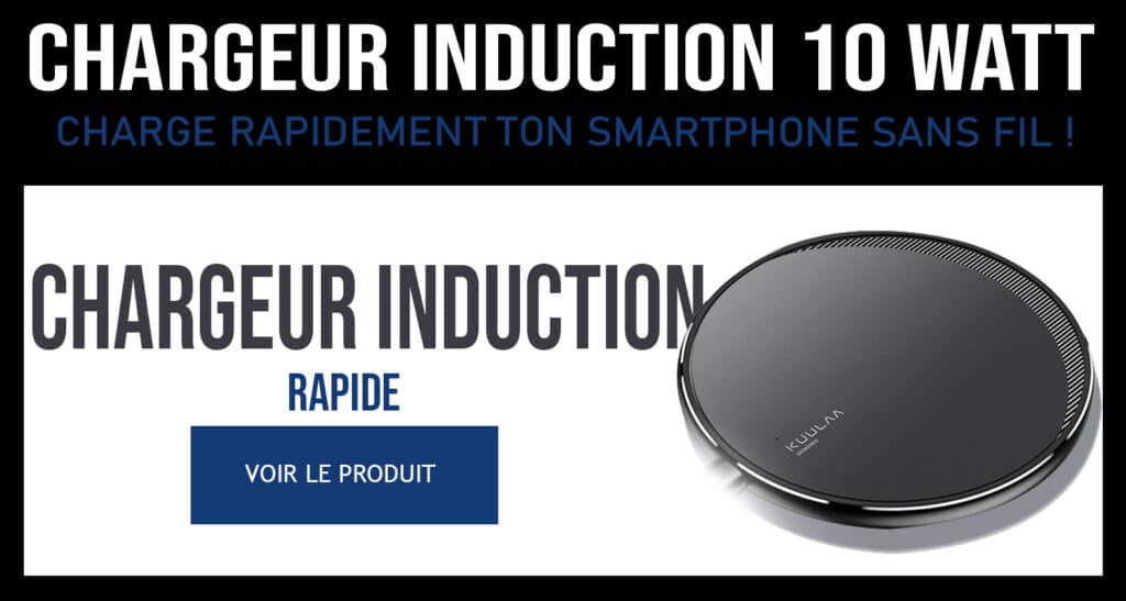 chargeur induction 10