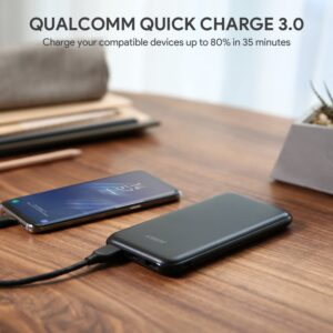 batterie externe 10000mAh Aukey Qualcomm quick charge 3.0