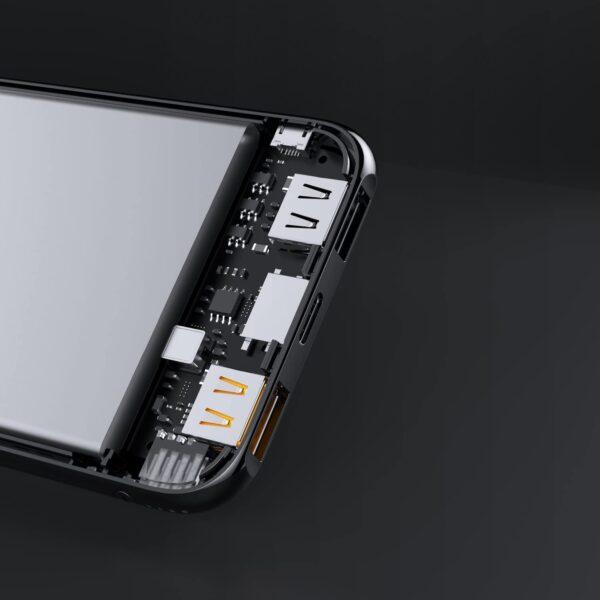 batterie externe 10000mAh Aukey détails
