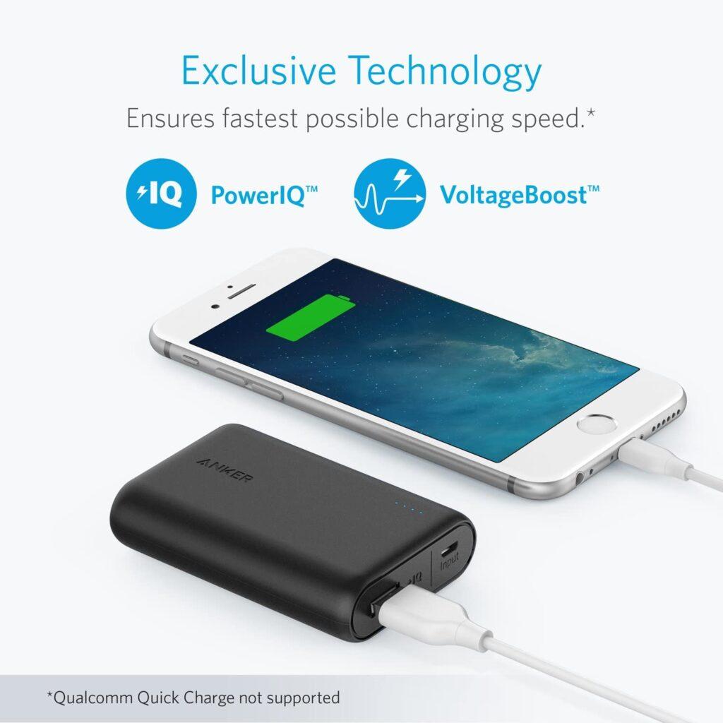 batterie externe 10000mAh technologie exclusive