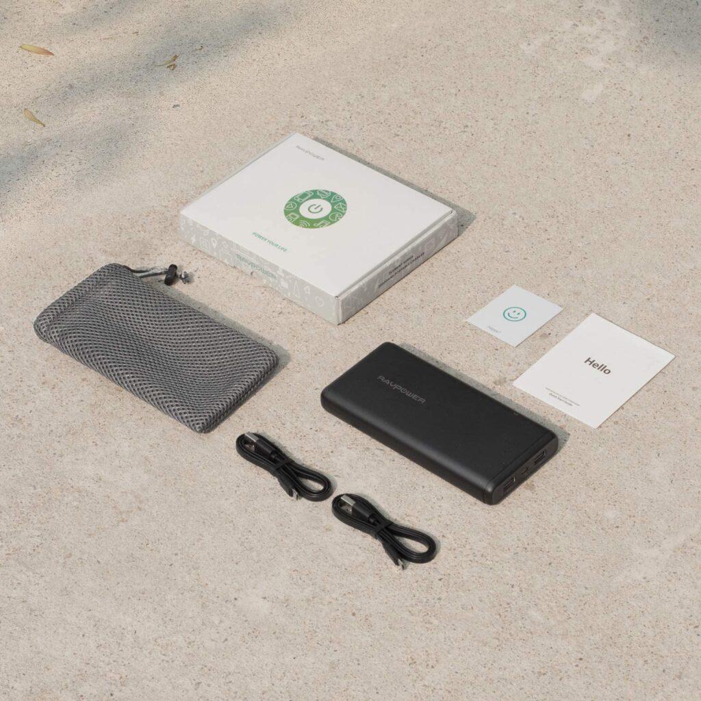 batterie externe 20000mAh ravpower accessoires