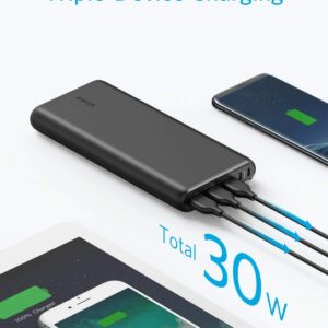 batterie externe 26800mAh Anker charge 3 appareils simultanément
