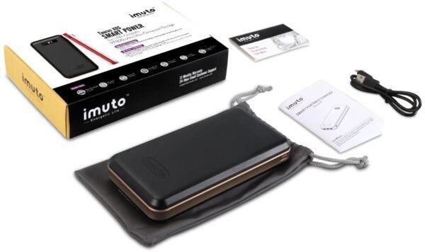batterie externe 30000mAh Imuto accessoires