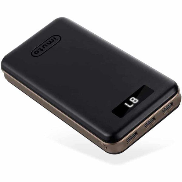 batterie externe 30000mAh Imuto noir