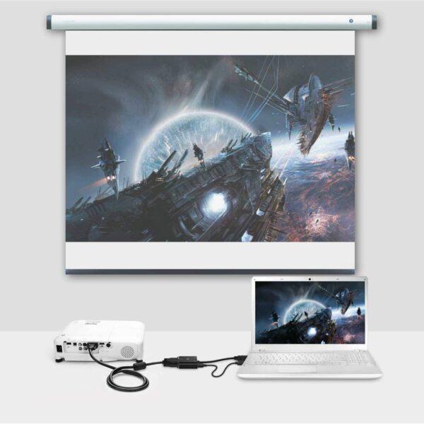 Adaptateur HDMI vers VGA macbook
