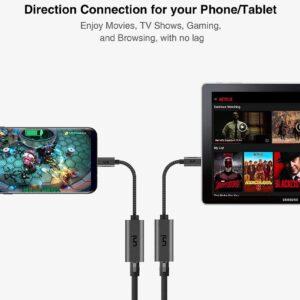 Adaptateur USB-C vers Ethernet RJ45 smartphone