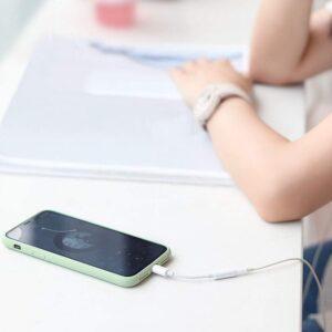 Adaptateur écouteur iPhone 3.5mm exemple