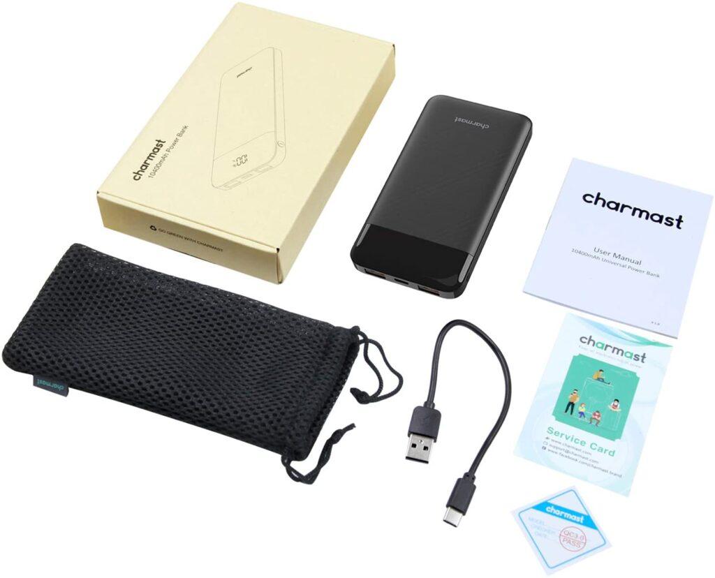 Batterie Externe 10000mAh Charmast accessoires
