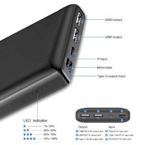 Batterie externe 30000mAh Baseus ports usb