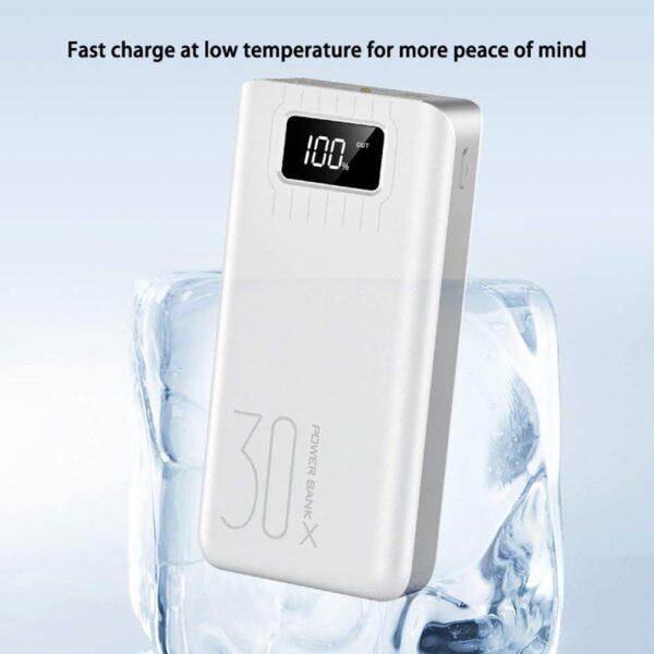 Batterie externe 30000mAh Boxiao temperature basse