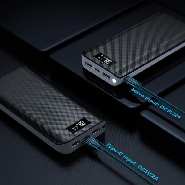 Batterie externe 30000mAh EMNT micro et type c