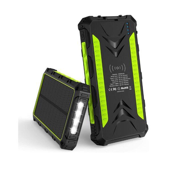Batterie externe solaire 20000mAh Slols 2