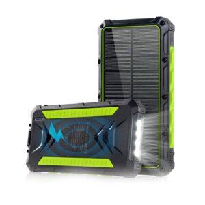 Batterie externe solaire 20000mAh Slols