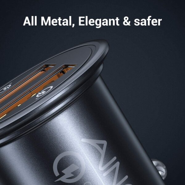 Chargeur Allume Cigare Ainope 36W elegant