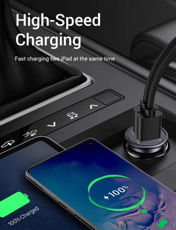 Chargeur Allume Cigare DIVI charge rapide