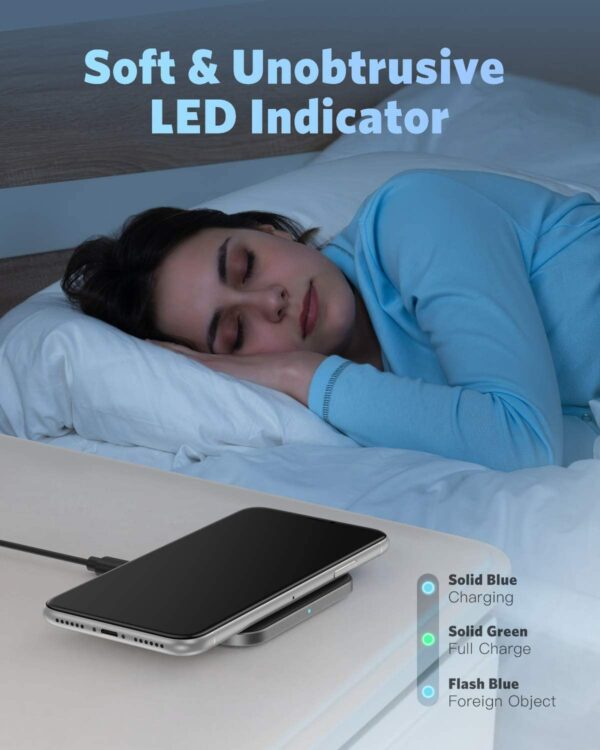 Chargeur Induction AGPTek LED