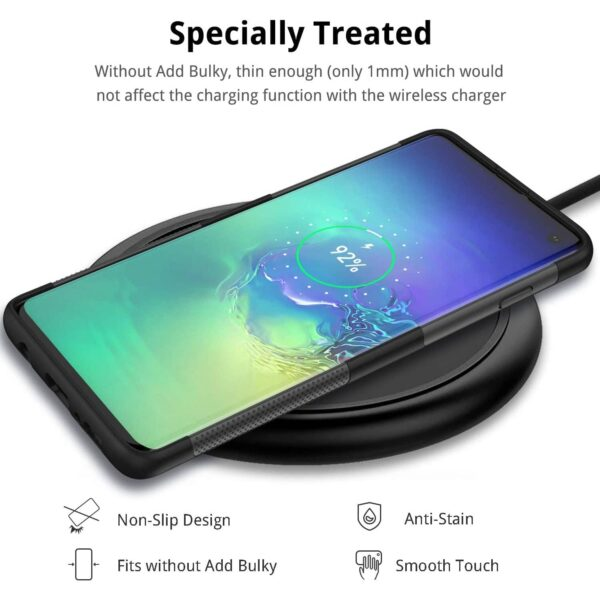 Coque Galaxy S10 charge induction
