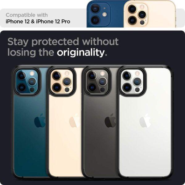Coque iPhone 12 et 12 Pro transparent