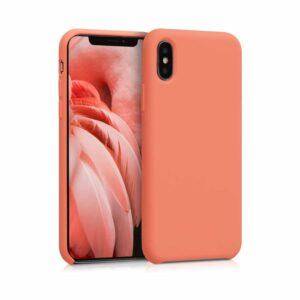 Coque iPhone X Papaye