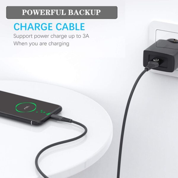 Lot de 2 Câble USB Type C charge rapide