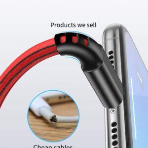 Lot de 5 Câbles pour iPhone sécurité