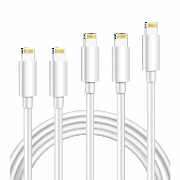 Lot de 5 câbles (123m)