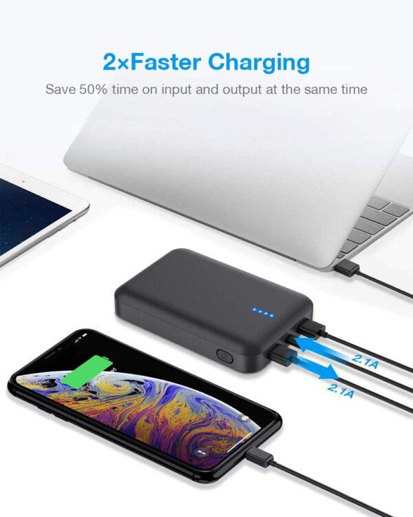 batterie externe 10000mAh Luvfun charge rapide