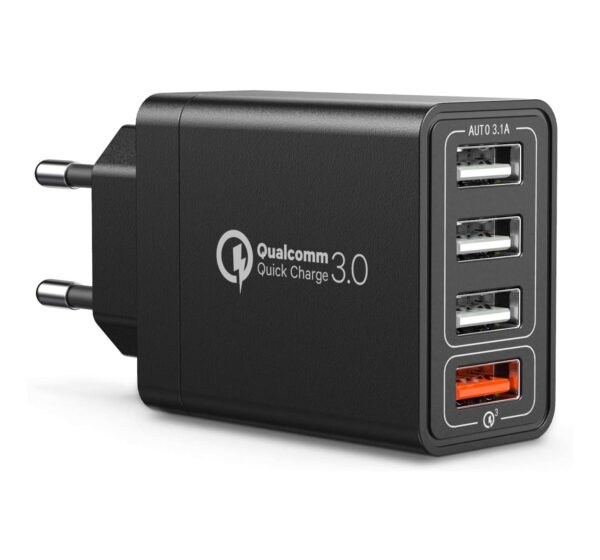 chargeur rapide 3.0 4 ports USB IWAIVON