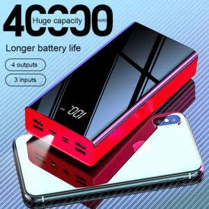 Batterie externe 40000mAh X grande capacité