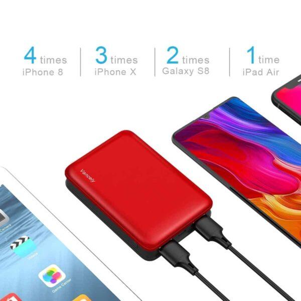 Batterie externe 10000mAh pas cher double usb