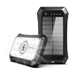 Batterie externe 10000mAh solaire