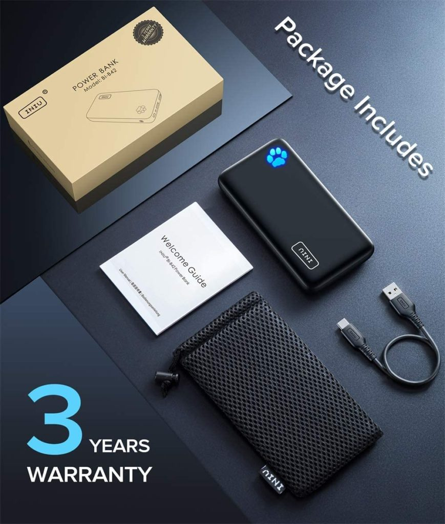 Batterie externe 20000mAh Power Bank accessoires