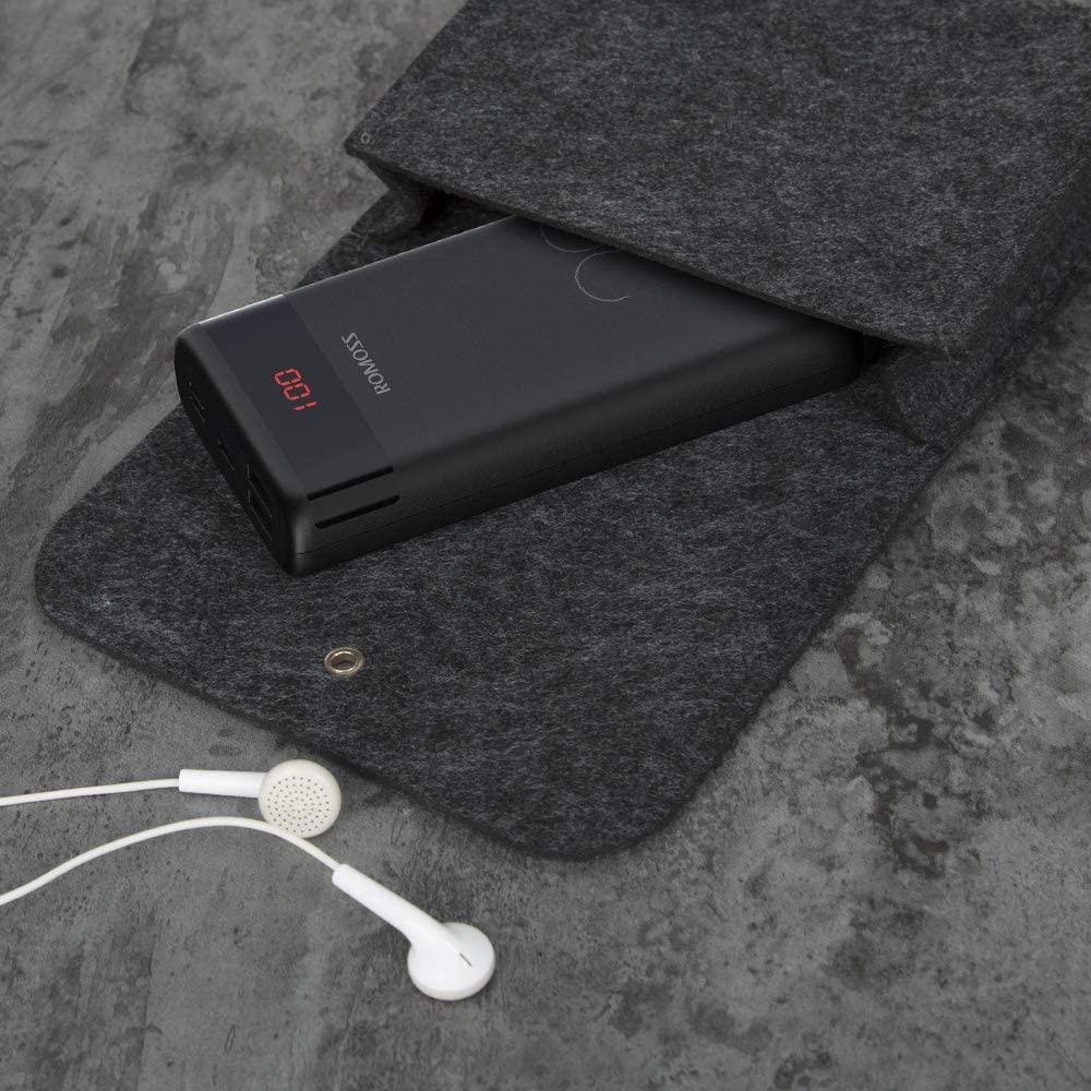 Batterie externe 20000mAh compact presentation