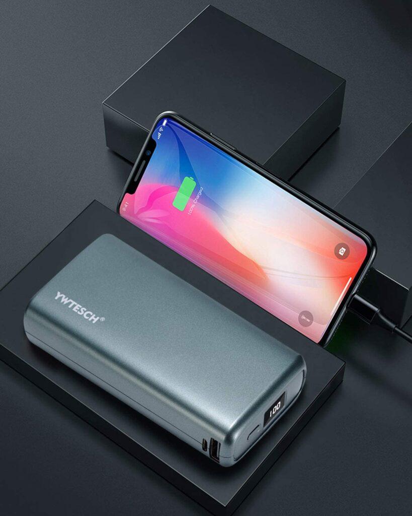Batterie externe 20000mAh pas cher iphone x