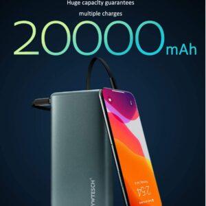 Batterie externe 20000mAh pas cher présentation