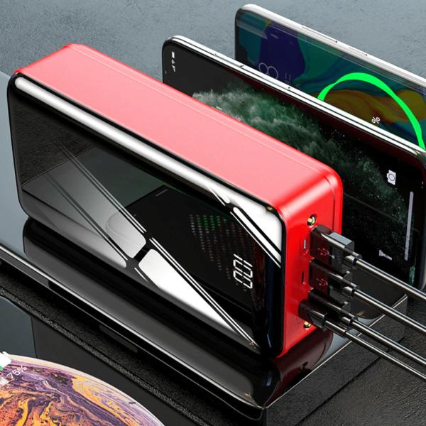 Batterie externe 40000mAh Black Mirror charge rapide