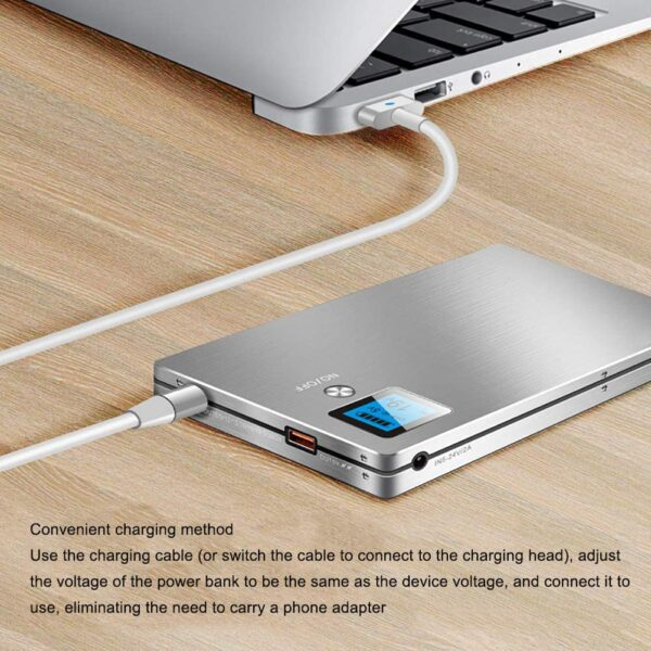Batterie externe 40000mAh XINDONG charge rapide