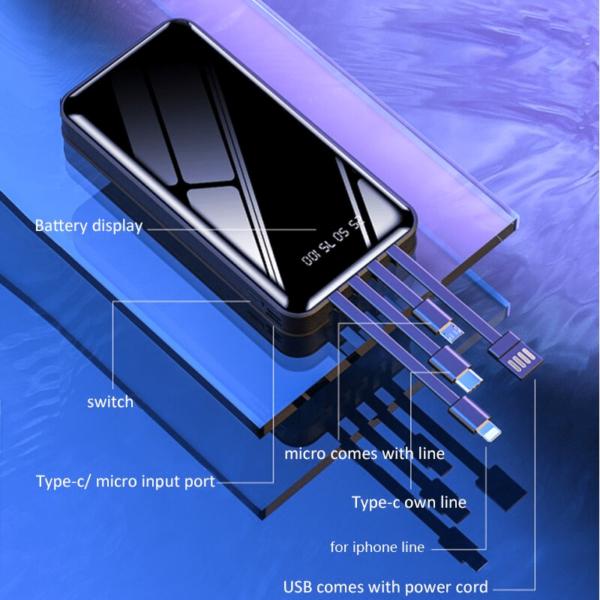 Batterie externe 40000mAh ZeroSpace caractéristiques