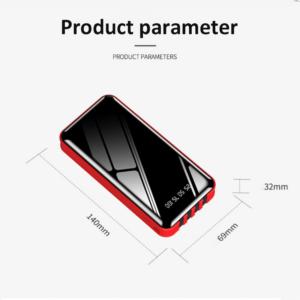 Batterie externe 40000mAh ZeroSpace taille