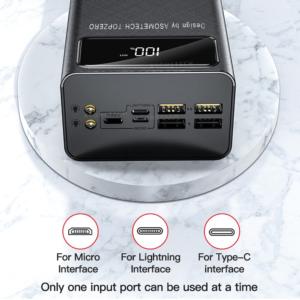 Batterie externe 50000mAh Asometech caractéristiques