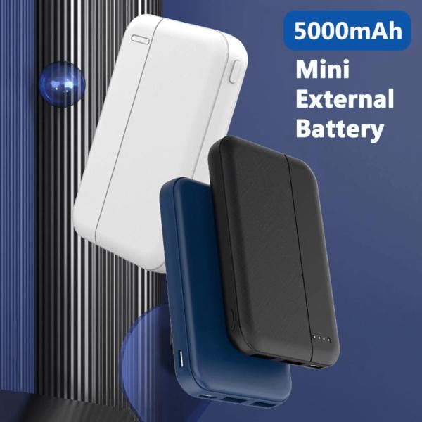 Batterie externe 50000mAh BOB taille mini