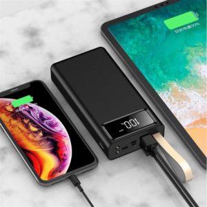 Batterie externe 50000mAh Glowing double charge