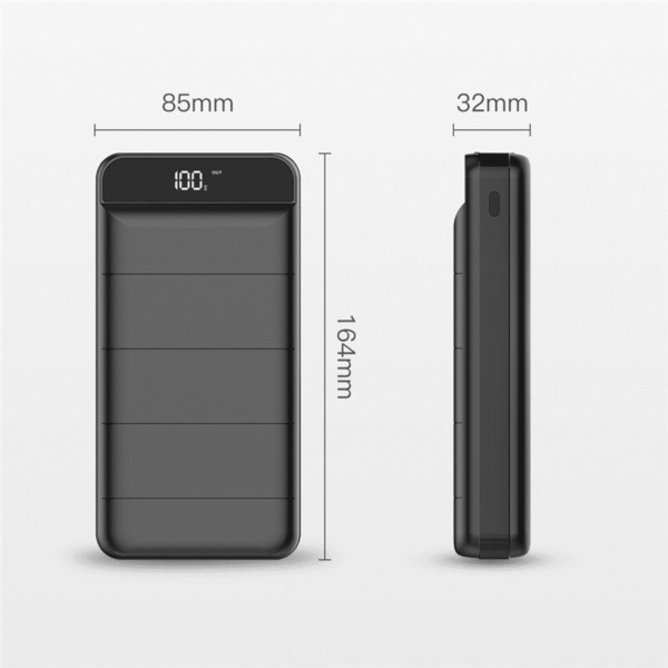 Batterie externe 50000mAh Tricky dimensions