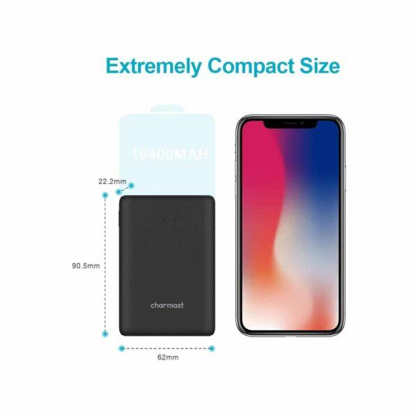 Batterie externe USB C 10000mAh petite et compacte
