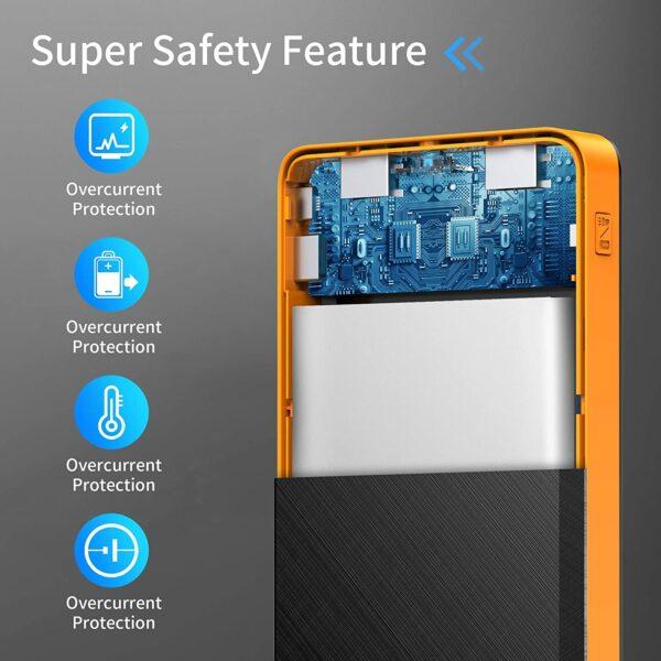 Batterie externe USB C Output protection